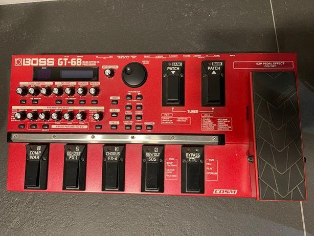 Boss GT-6B multiefekt basowy, procesor