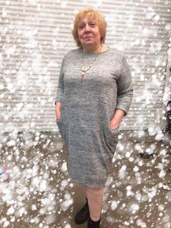 Женское платье италия большого размера батал