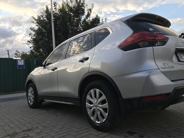 Nissan Rogue RESTAILING version