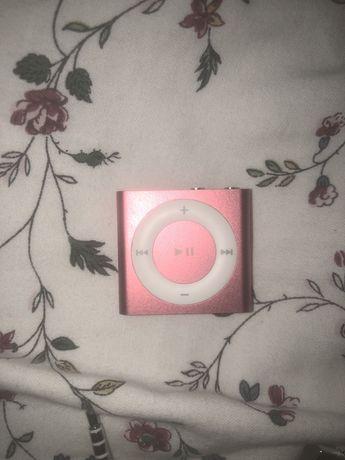 ipod shuffle czerwony apple 2gb