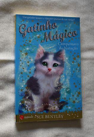 """2 Livros """"Gatinho Mágico"""" de Sue Bentley"""