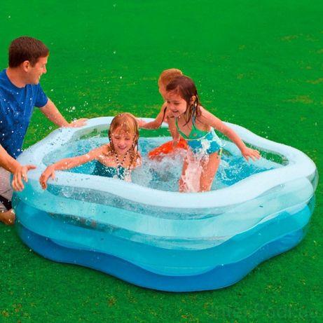 Детский надувной бассейн intex 56495 Морская звезда