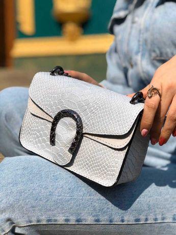 Итальянские кожаные сумочки в стиле Gucci