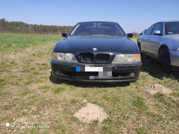 BMW E39, m54b22, kolor schwartz 2, bdb stan