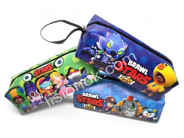 Пенал Бравл Старс для стильных и увлеченных игрой Brawl Stars детей