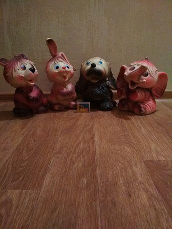 Продам игрушки резиновые СССР