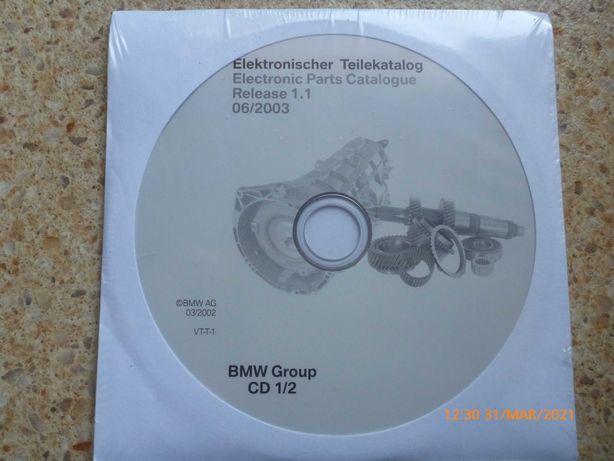 płyta cd rom etk bmw elektroniczny katalog części
