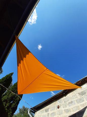 Тент парус, навес тень, защита от солнца