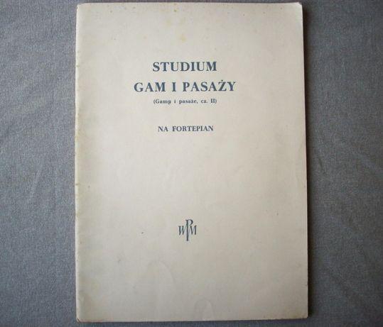 Studium gam i pasaży na fortepian, cz. II, PWM 1963.