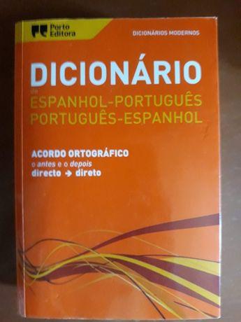 Dicionário Bilingue Espanhol/Português - Português/Espanhol