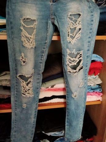 Spodnie damskie zamienię