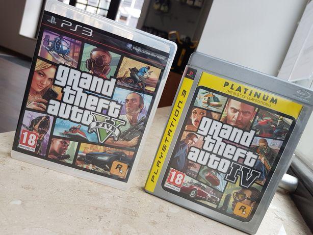 GTA IV V PS3 PS4 PlayStation 3 duży wybór gier na konsole Kalisz