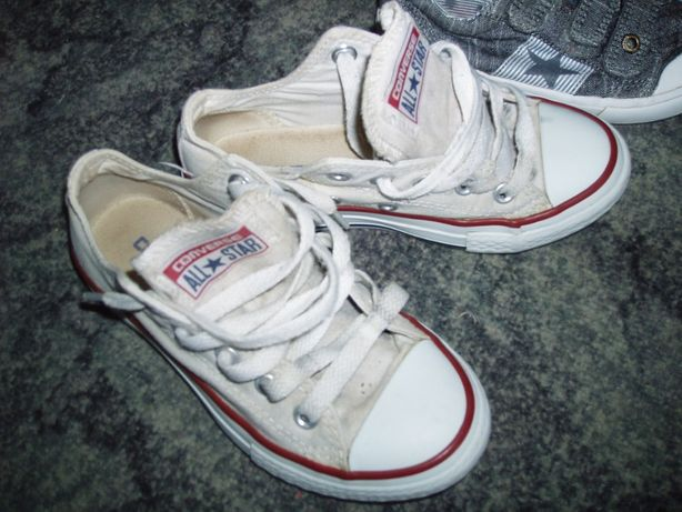 Кеды,мокасины Converse all star оригинал ,конверсы белые детские