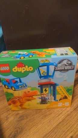 Lego Duplo 10880 Jyrassic World Лего дупло Башня тиранозавра