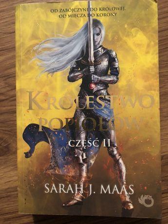 Królestwo popiołów Sarah J Mass