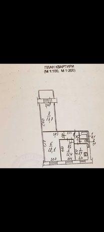 Продам 3-х комнатную квартиру на ж/м Победа 2 под ремонт TG