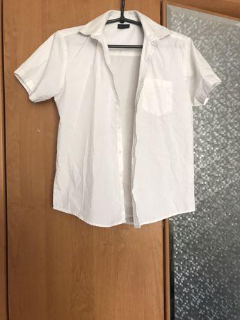 Рубашка на 11 лет мальчик белая