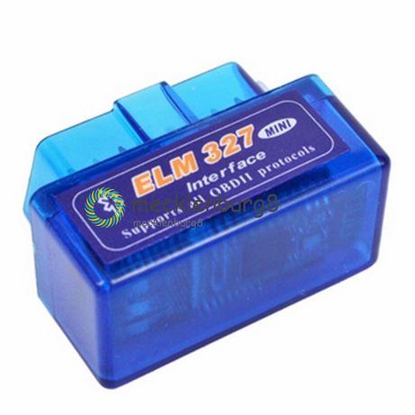 Ficha de diagnostico Bluetooth Mini ELM327 V2.1 OBD2 II