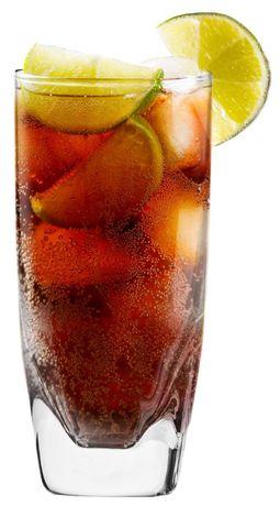 Wysokie szklanki do drinków i napojów grube dno 310 ml, 5 sztuk, nowe