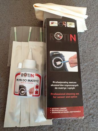 Rotin Profesjonalny zestaw akcesoriów czyszczących do matryc i optyki