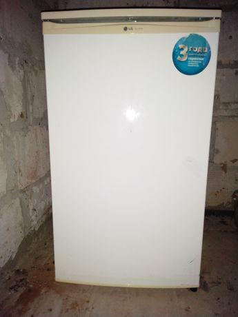 Холодильник морозильник маленький 85 см. LG GC-151SA. Мини. Отличный!