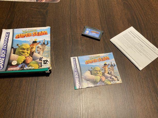 Shrek SuperSlam GameBoy Advance komplet!