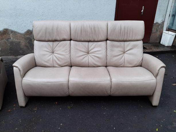 Шкіряний диван 3к Шкіряні меблі Кожаная мебель Гарнітур