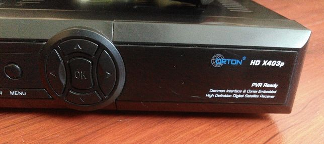 ORTON HD X403p запись ТВ програм на флешку