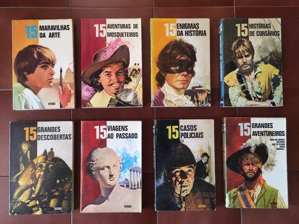 """8 Livros da """"Serie 15"""""""