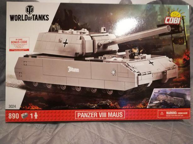 Cobi czołg World of Tanks miniaturowe pojazdy gratis