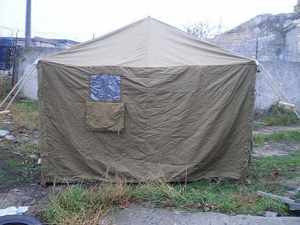 Армійська палатка часів СССР