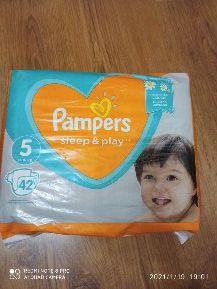 Pampers 5 (42шт) sleep & play
