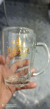 Продаются пивные бокалы юбилейные Львовское 1715