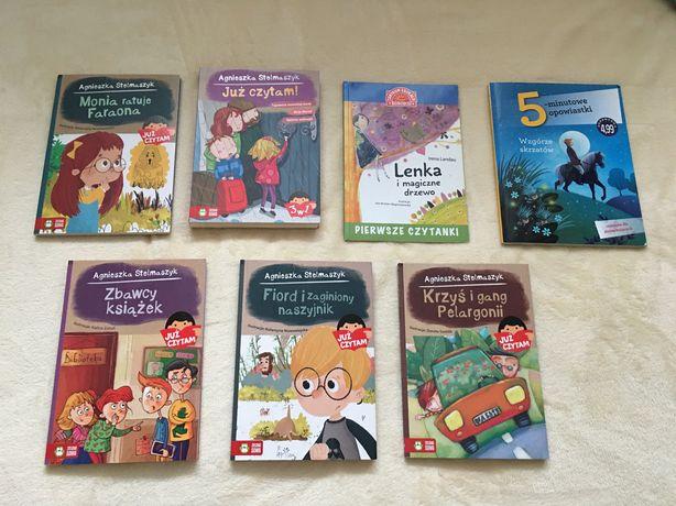 Zestaw 7 książek Agnieszka Stelmaszczyk Irena Landau Już czytam