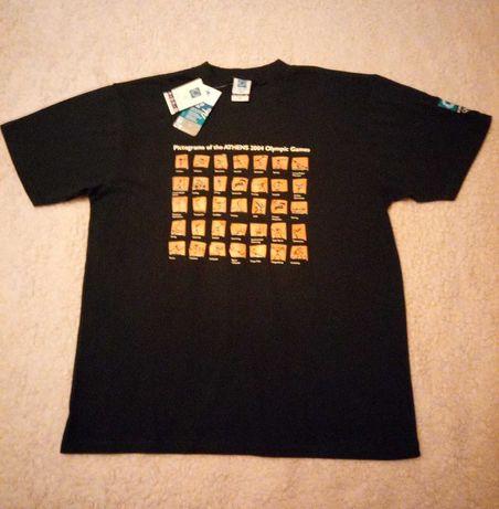 koszulka bawełniana IO Ateny 2004