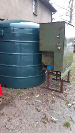 Zbiornik do paliwa on ropa dwupłaszczowy beczka cysterna 5000l