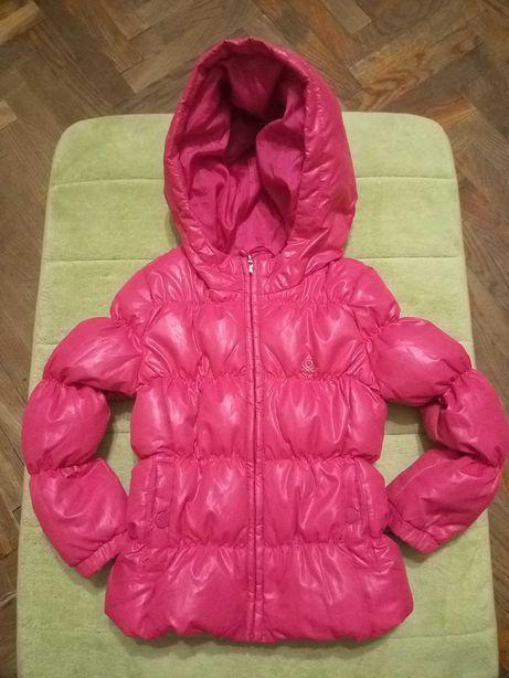Куртка пуховая benetton