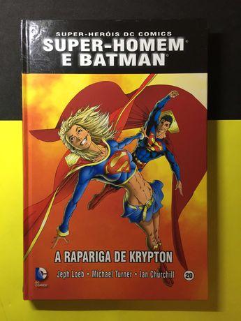 Super-Heróis DC Comics. A Rapariga de Krypton (Portes CTT Grátis)