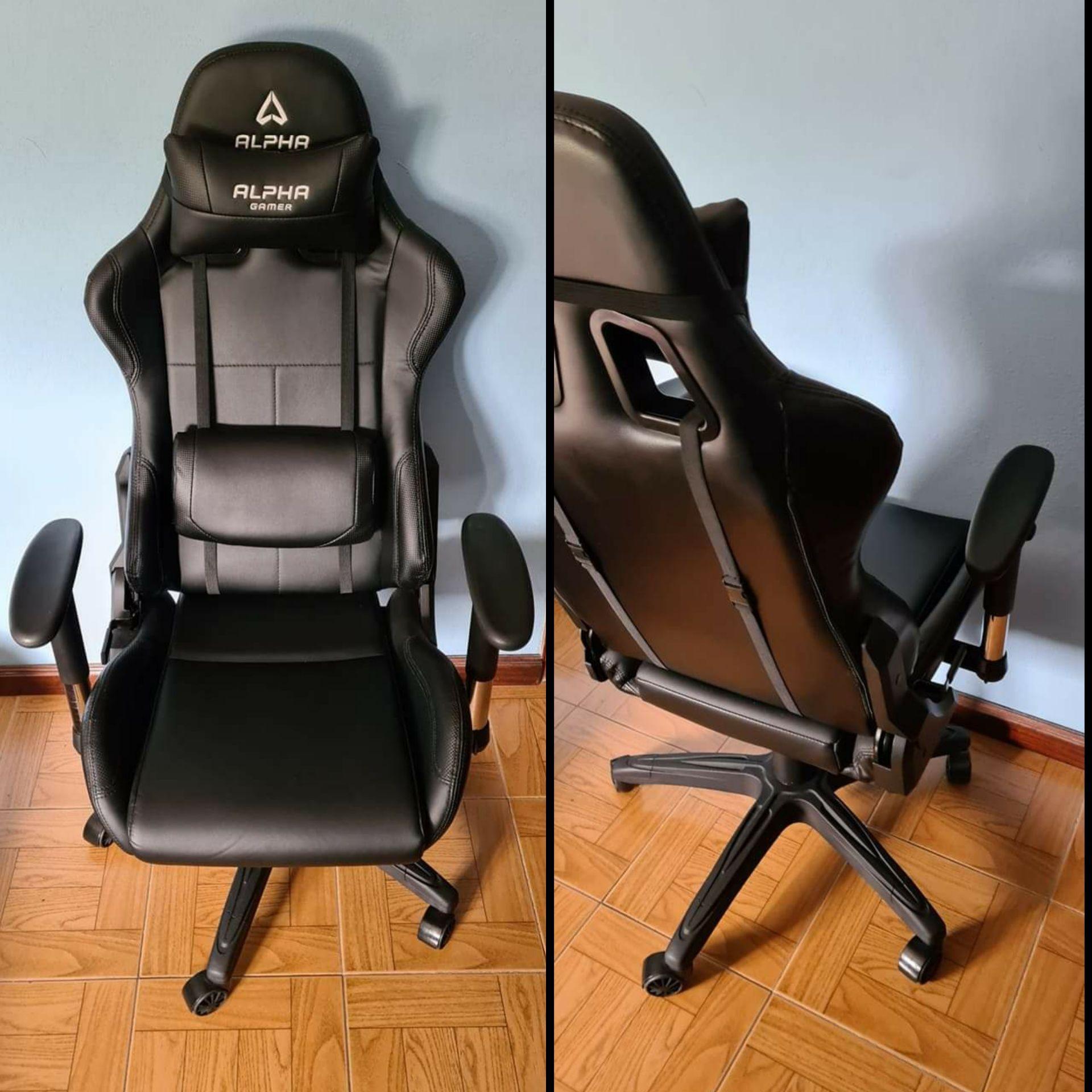 Cadeira gaming da ALPHA GAMER para computador pc