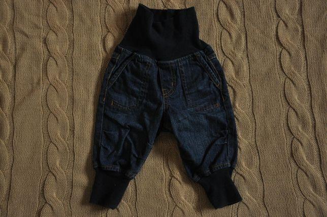 H&M spodnie jeansy r.62
