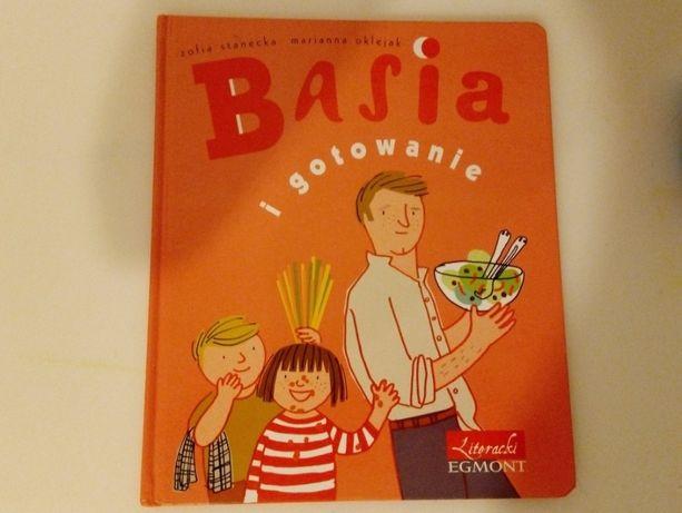 książka Basia i gotowanie