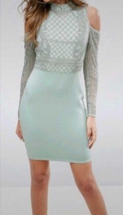 Sukienka zdobiona wycięcia Radom - image 1