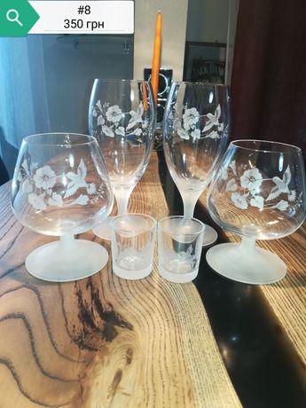 Продам бокалы на 2 персоны