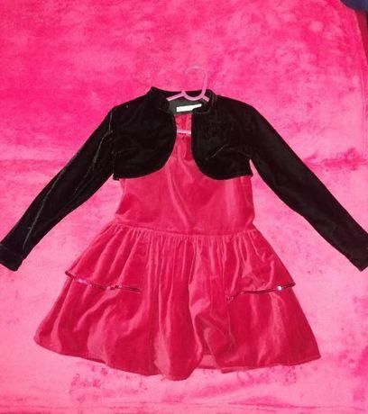 Sukienka RESERVED 6-7 lat 122 cm +bolerko