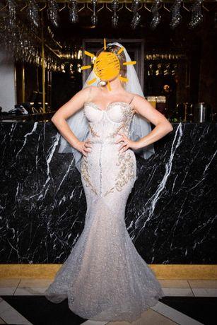 suknia śubna projektu Ange Etoiles