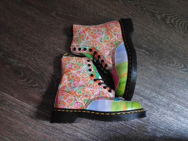 женские ботинки доктор Мартинс dr martens кожа оригинал