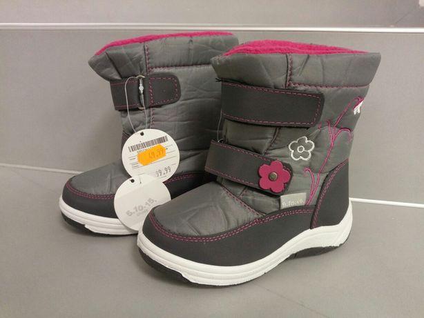 Nowe śniegowe dla dziewczynki buty na zimę