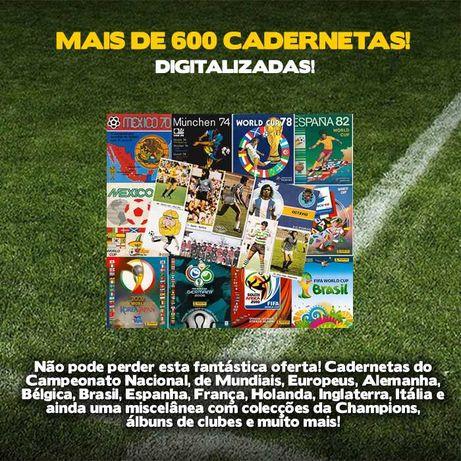 Mais de 600 cadernetas de futebol digitalizadas!