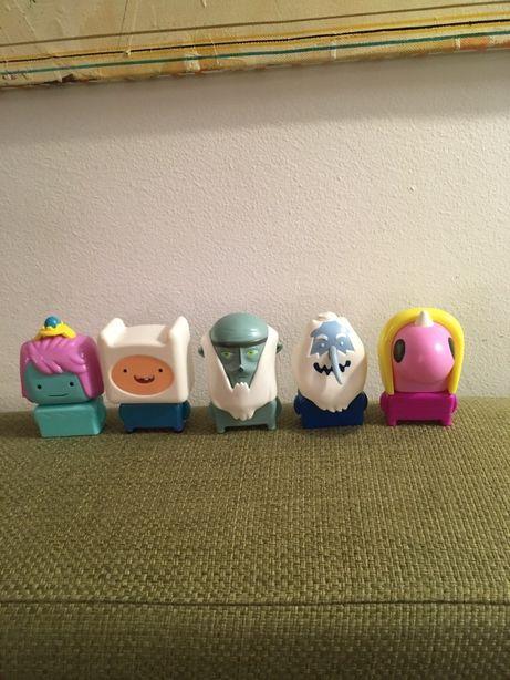 Zestaw zabawek Pora na przygodę figurki McDonald's Adventure Time