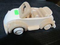 Drewniany samochodzik Garbus Cabrio Beetle